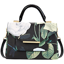 Buy Ted Baker Domina Crosshatch Lady Bag, Black Online at johnlewis.com