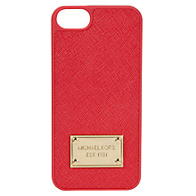 Buy Michael Kors Electronics iPhone5 Phone Cover, Watermelon Online at johnlewis.com