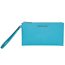 Buy MICHAEL Michael Kors Jet Set Leather Travel Zip Clutch Bag Online at johnlewis.com