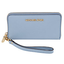 Buy MICHAEL Michael Kors Jet Set Large Coin Leather Multifunctional Purse Online at johnlewis.com
