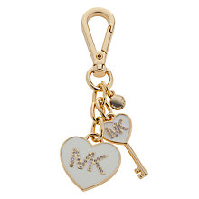 Buy MICHAEL Michael Kors Key Charms Heart Keyring Online at johnlewis.com
