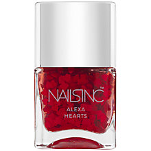 Buy Nails Inc Alexa Hearts Polish Gift, 14ml Online at johnlewis.com