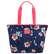 Buy Seafolly Vintage Vacation Hula Bag, Blue Multi Online at johnlewis.com