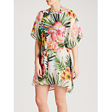 Buy John Lewis Hawaii Floral Kaftan, Multi, One Size Online at johnlewis.com