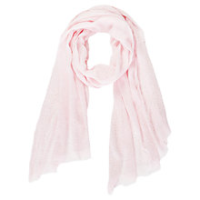 Buy Betty Barclay Long Studded Scarf, Light Rose Online at johnlewis.com