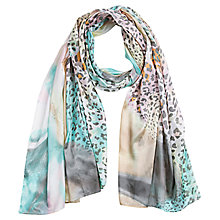 Buy Betty Barclay Abstract Animal Print Scarf, Multi Online at johnlewis.com