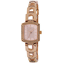 Buy Radley RY4198 Women's Grosvenor Stone Bracelet Strap Watch, Rose Gold Online at johnlewis.com