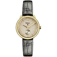 Buy Barbour Women's Whitley Leather Strap Watch Online at johnlewis.com