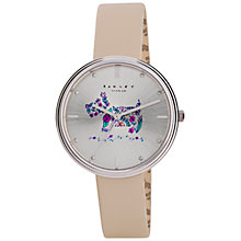 Buy Radley RY2311 Women's Flower Dog Leather Strap Watch Online at johnlewis.com