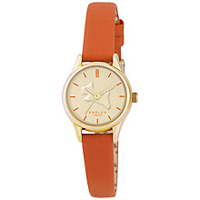 Buy Radley RY2308 Women's Colour Splash Leather Strap Watch Online at johnlewis.com