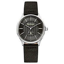 Buy Barbour Men's Glysdale Fuse Fabric Strap Watch Online at johnlewis.com