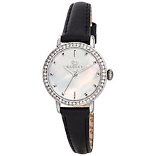Buy Radley RY2301 Women's Mother Of Pearl Leather Strap Watch, Black Online at johnlewis.com