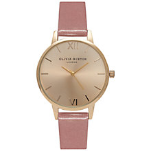 Buy Olivia Burton OB15MD36 Women's Midi Dial Watch, Rose/Gold Online at johnlewis.com