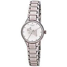Buy Radley RY4211 Women's Classic Dog Bracelet Watch, Silver Online at johnlewis.com