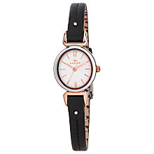Buy Radley RY2317 Women's Oval Link Leather Strap Watch Online at johnlewis.com