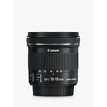 Buy Canon EF-S 10-18mm f/4.5-5.6 IS STM Wide Angle Lens Online at johnlewis.com