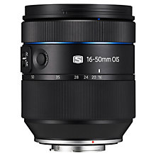 Buy Samsung NX 16-50mm f2-2.8 Premium S Lens Online at johnlewis.com