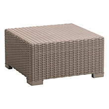 Buy Suntime California Outdoor 2-Seat Coffee Table, Graphite Online at johnlewis.com