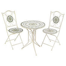 Buy Suntime Tarragona Mosaic Bistro Dining Set Online at johnlewis.com
