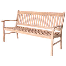 Buy Leisuregrow Hanoi 3-Seat Slatted Bench Online at johnlewis.com
