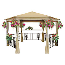 Buy Suntime Majestic Gazebo with Net Flower Basket Online at johnlewis.com