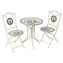 Buy Suntime Vigo Mosaic Bistro Set Online at johnlewis.com