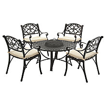 Buy Suntime Firepit Outdoor Dining Set Online at johnlewis.com
