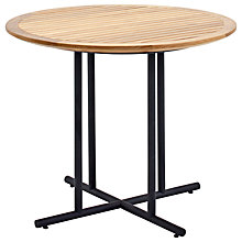 Buy Gloster Whirl Outdoor Teak Bistro Table Online at johnlewis.com