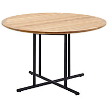 Buy Gloster Whirl 4-Seater Teak Outdoor Dining Table Online at johnlewis.com