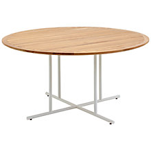 Buy Gloster Whirl 6-Seater Outdoor Teak Bistro Table Online at johnlewis.com