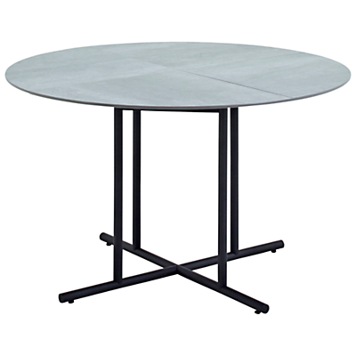 Gloster Whirl 4-Seater Ceramic Outdoor Dining Table
