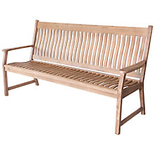 Buy Leisuregrow Hanoi Curved 3-Seat Bench Online at johnlewis.com
