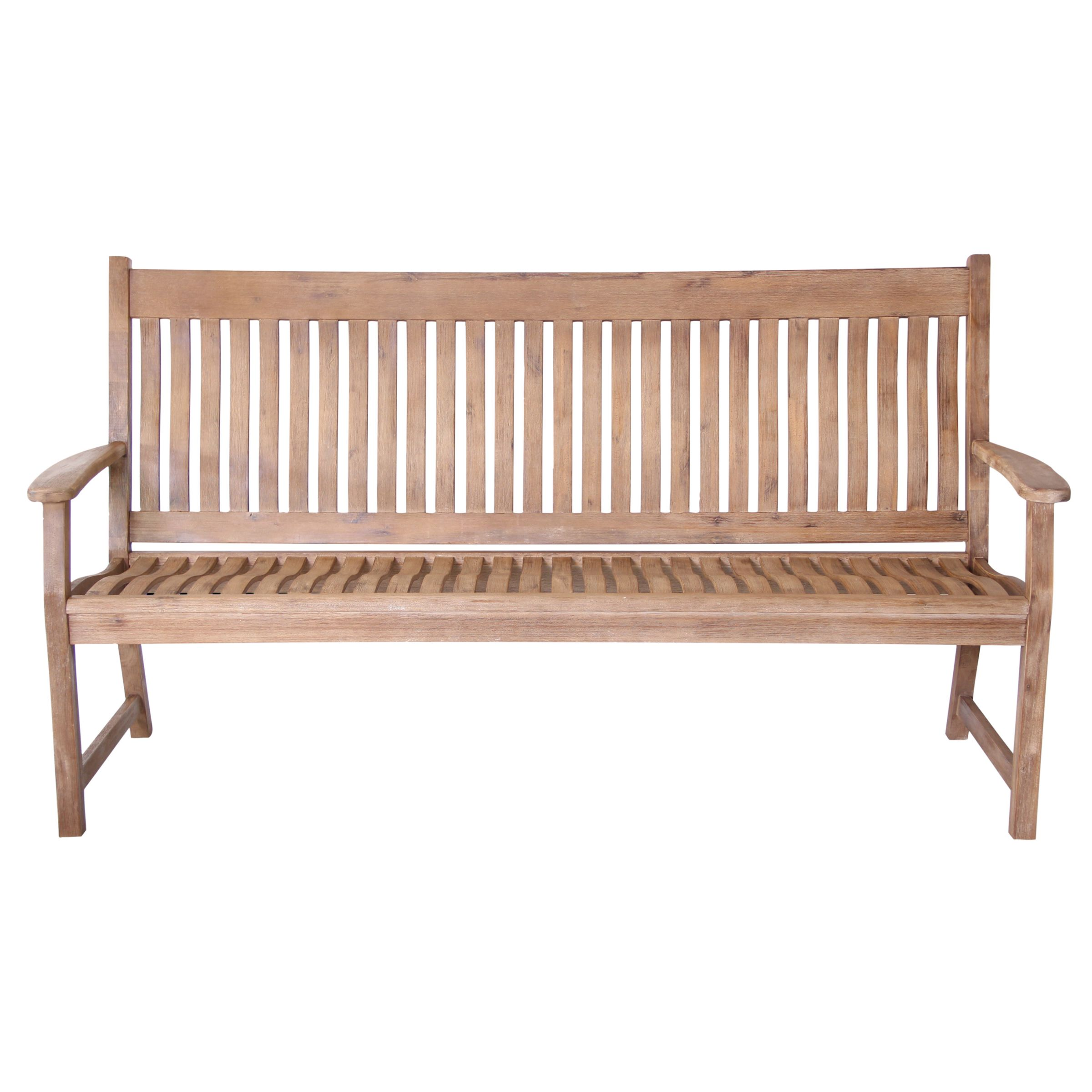 LG Outdoor LG Outdoor Hanoi Curved 3-Seat Bench, FSC-certified (Acacia)