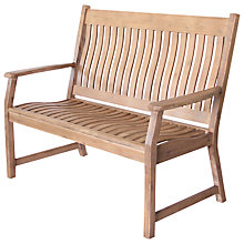 Buy Leisuregrow Hanoi Curved 2-Seat Bench Online at johnlewis.com