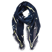Buy Mint Velvet Eve Print Scarf, Multi Online at johnlewis.com