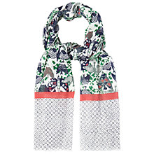 Buy White Stuff Sky High Bird Scarf, Multi Online at johnlewis.com