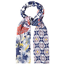 Buy White Stuff Patched Geo Scarf, Multi Online at johnlewis.com