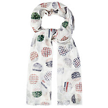 Buy White Stuff Textured Spot Scarf, Multi Online at johnlewis.com