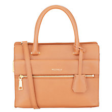 Buy Modalu Erin Leather Small Grab Bag, Caramel Online at johnlewis.com