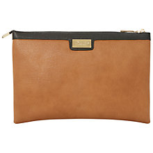 Buy Dune Daisies Triple Pouch Clutch Bag, Cream Online at johnlewis.com