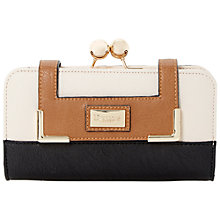 Buy Dune Kaisie Colour Block Purse, Black Online at johnlewis.com
