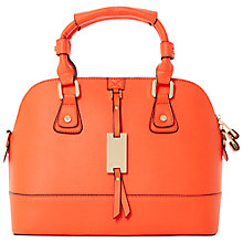 Buy Dune Dotty Large Grab Bag, Orange Online at johnlewis.com
