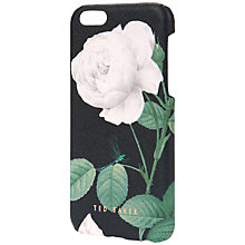 Buy Ted Baker Loouise iPhone 6 Case, Black Online at johnlewis.com