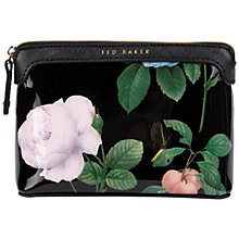 Buy Ted Baker Zabeth Small Wash Bag, Black Online at johnlewis.com