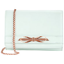 Buy Ted Baker Phoebbee Slim Bow Leather Across Body Bag Online at johnlewis.com