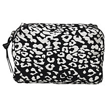 Buy Becksondergaard Canvas Leolee Pouch, Black Online at johnlewis.com