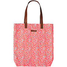 Buy Becksondergaard O-Coral Reef Tote Bag, Orange Online at johnlewis.com