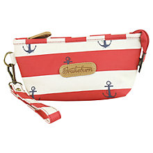 Buy Brakeburn Anchor Cosmetic Bag, Red Online at johnlewis.com