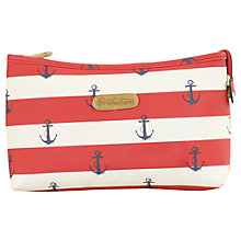 Buy Brakeburn Anchor Wash Bag, Red Online at johnlewis.com