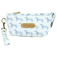 Buy Brakeburn Dog Cosmetic Bag, Blue Online at johnlewis.com